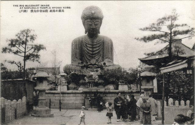 神戸の名刹能福寺の大仏